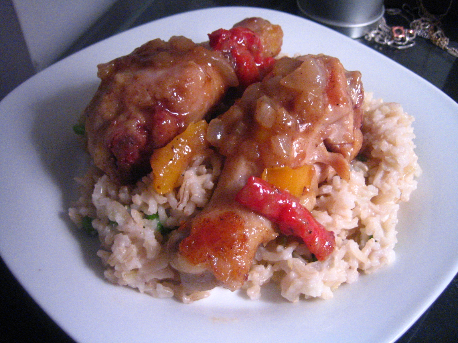 Caribbean Chicken and Rice | Braise the Roof